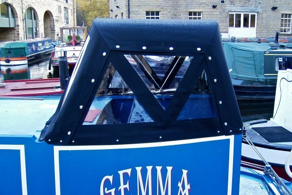 Narrow Boat Traditional Back Helm Hood / Pod