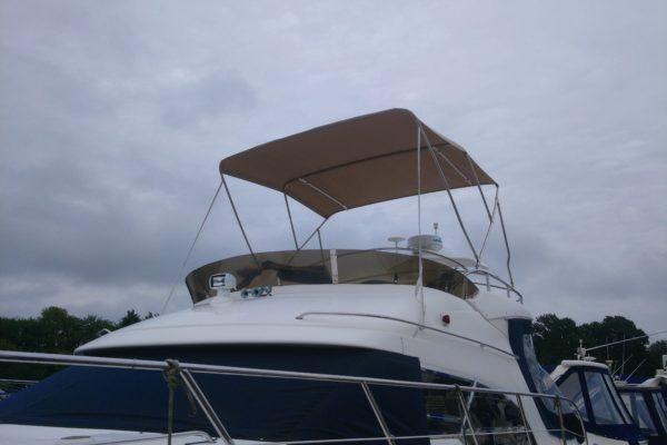 beige Speed Boat Bimini
