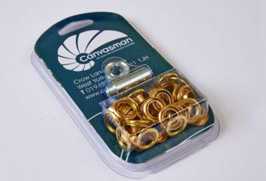 Brass Eyelets & Washers