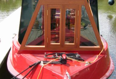 cratch wooden A-frame