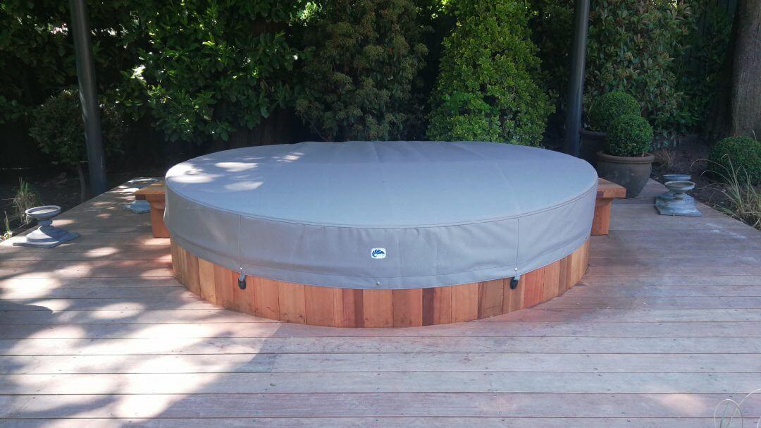 grey protective Garden Furniture Cover