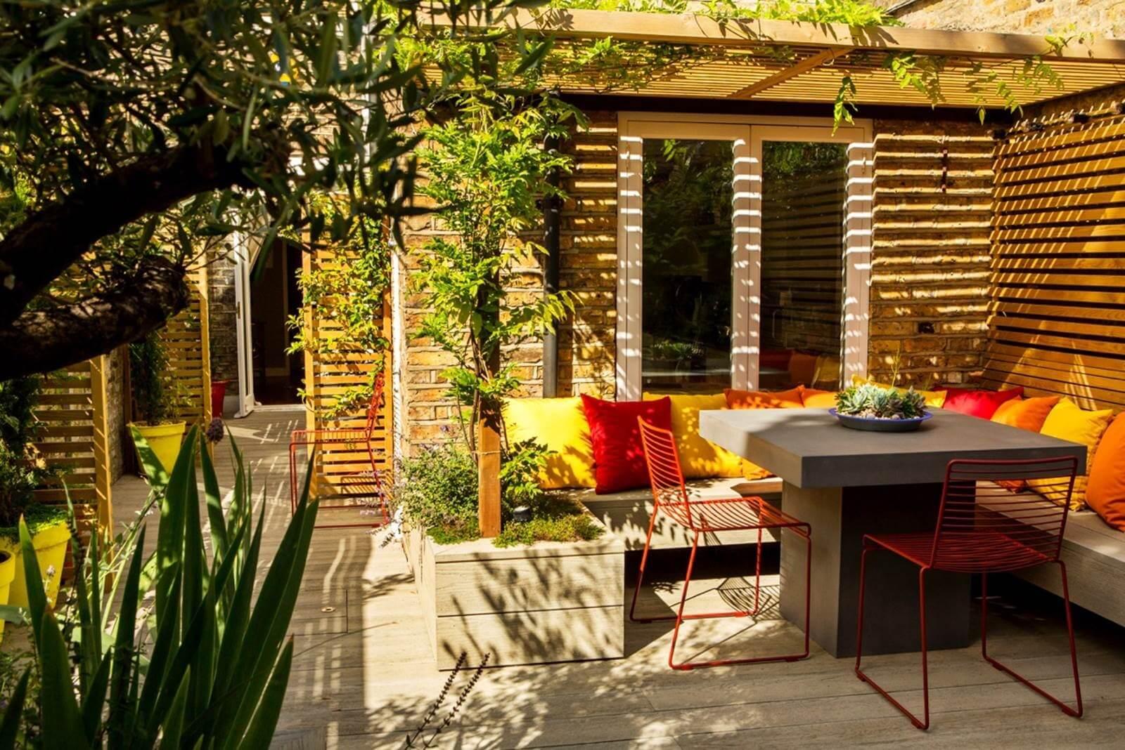 Custom Multi-coloured Garden Upholstery