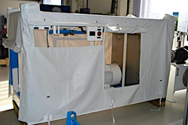 Custom White Compressor Equipment Overall Cover
