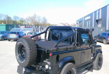 Custom Land Rover Tonneau Cover