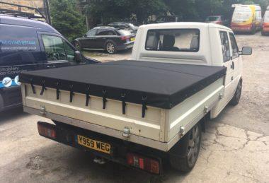 black Pick-up Tonneau