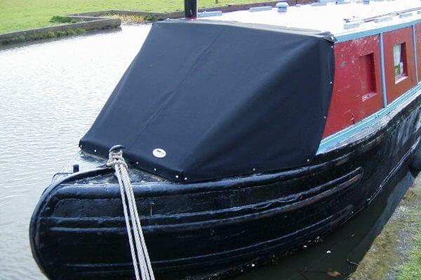 Black Narrow Boat Cratch Tonneau