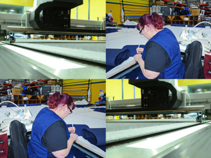 canvasman manufacturing process