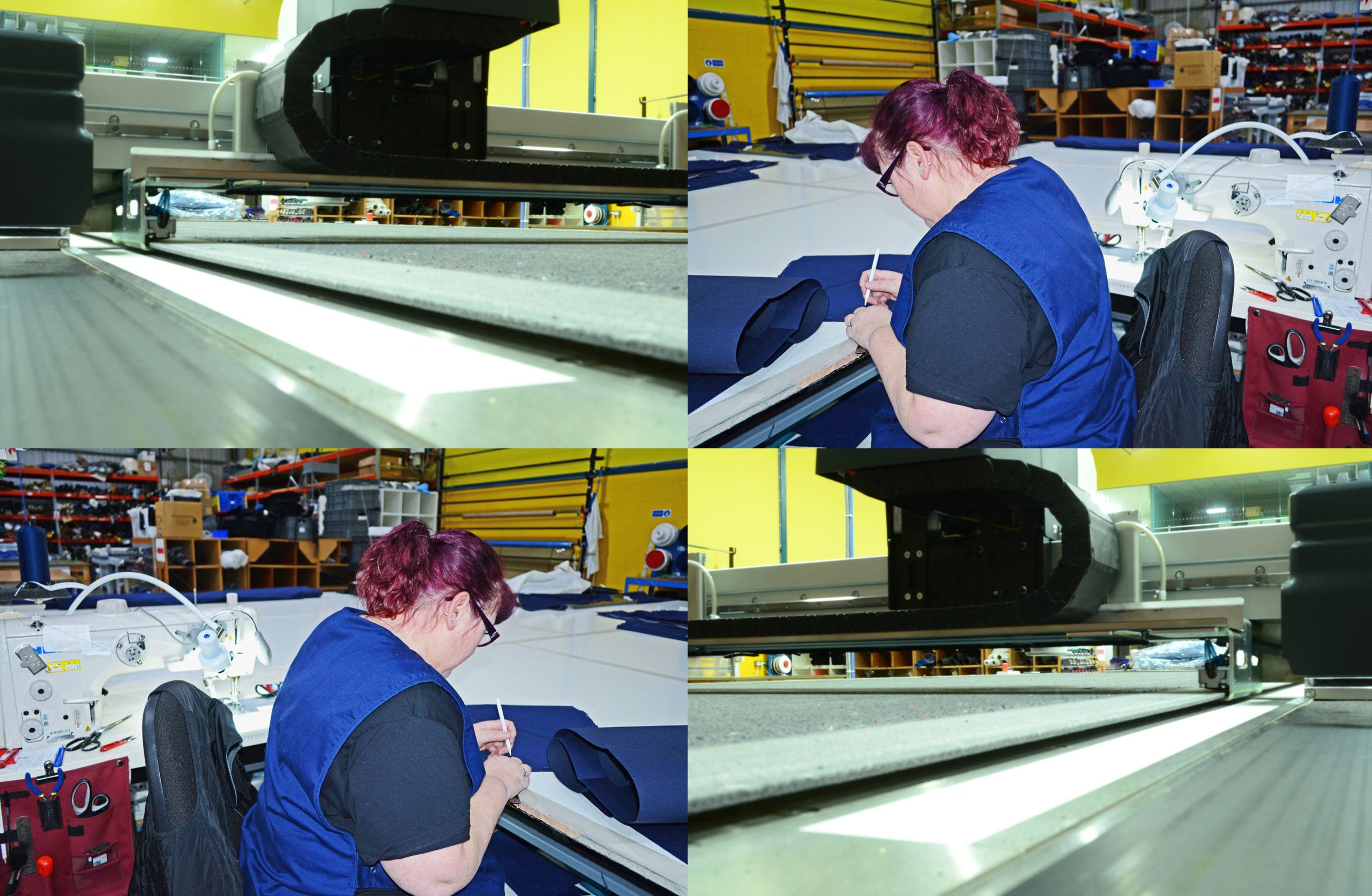 canvasman manufacturing process