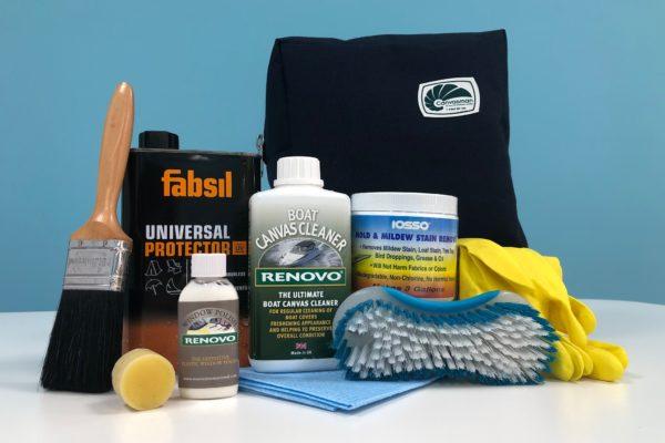 Spring clean giveaway bag