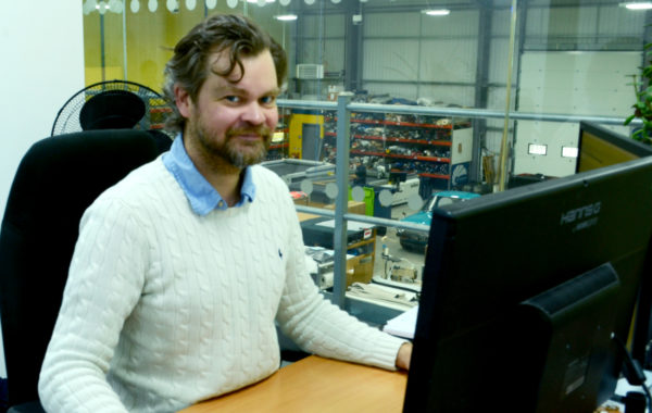 James Ineson head of Design at Canvasman