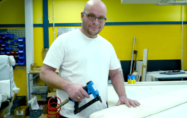Lukasz Rakowski head of cutting and packing at Canvasman