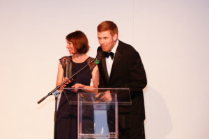 Canvasman Recieving the Business Excellence Award