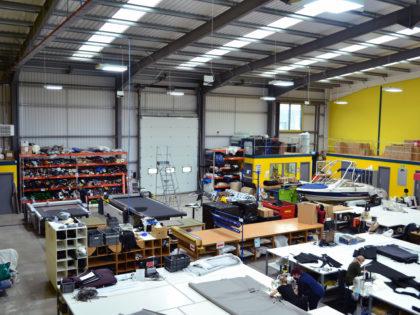 Canvasman industrial estate warehouse