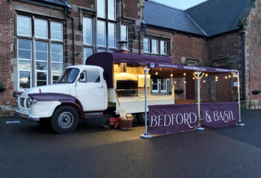 Canvasman Bedford & Basil Specialist Vehicle Hood/Awning for Mobile Stall